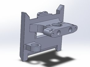 E3D plate for my Quick Fit Carriage