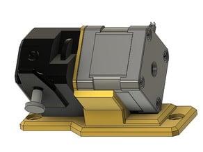 45° Bracket for Bondtech Extruder (3030 Extrusion) for Hypercube Evolution RS