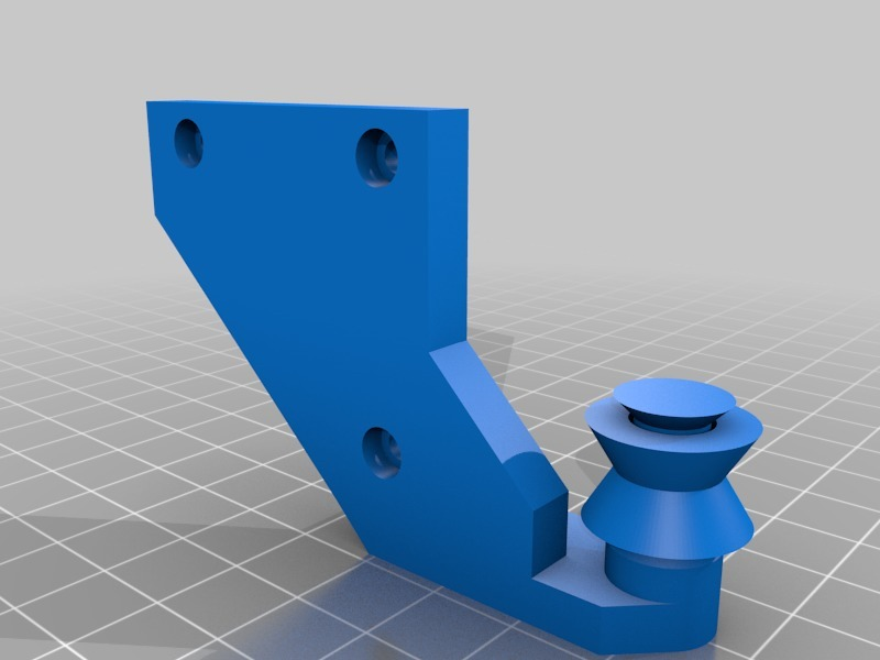Tevo Flash Extruder Guide by ScooterMAC - Thingiverse