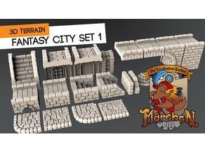 Fantasy city set