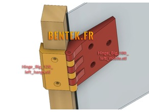 Hinges for P-Junction Structure (Charnières Jonction-P)