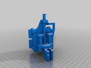 MakeBlock Drawbot (XY Plotter) X-Axis Carriage & Pen Lift Mechanism (Linear Actuator)