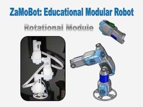 Modular Robot Rotational Module (ZaMoBot )