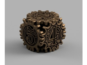 Steampunk Dice / Dé style Steampunk