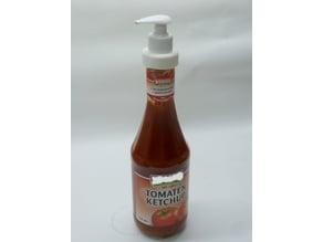 Pump Ketchup Bottle