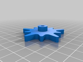 Bed Leveling Knob M3x0.5 pitch