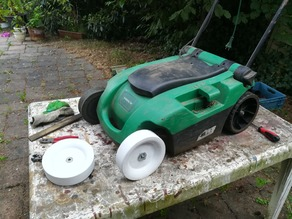 Spare wheel discounter lawn mower 180x50x10 with ball bearing