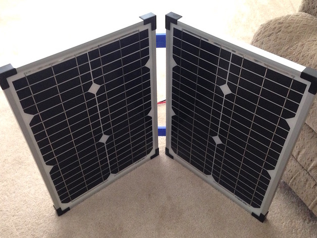 Solar Panel Hinges By Cpayne3d Thingiverse