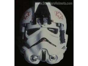 """AT-AT Driver Helmet """"Clock"""" Greeblie (ESB)"""