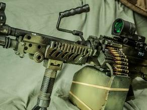 M249 Lower RIS rail mod