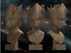 Groot Bust - Avengers: Infinity War