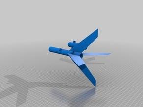 Model Rocket for ESTES B6-4