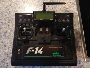 Jetibox on Futaba F14 Robbe