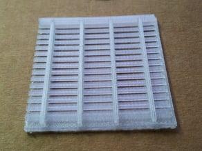 Customizable Fishbone Lamella Gas Seperation Grid for Electrolysis