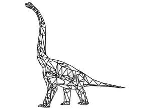Brontosaurus 2D Wall Art
