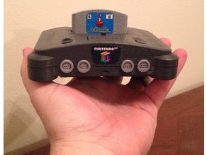 π64 (mini N64 case for RPi3 & 4)