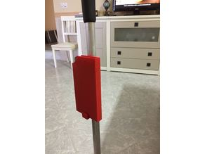 Mobile phone holder for crutch V01