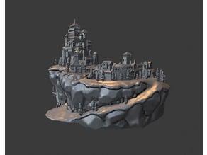 Medieval Village Diorama