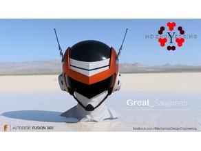 Great Saiyaman Helmet