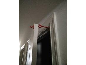 Door holder cat