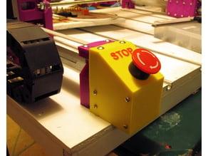 Root 3 CNC E-Stop Button Housing