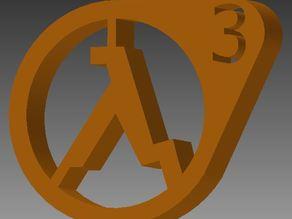 The Half-Life 3 Logo