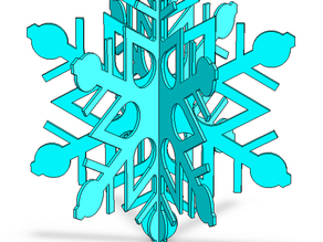 3D Snowflake, Version 3