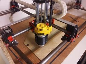 Mostly Printed CNC D26204/DW611 holder (mpcnc)