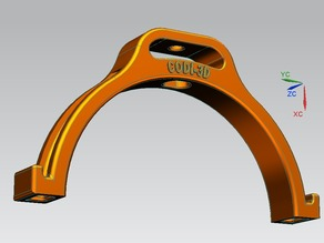 Collare superiore reggi tubo d15 cm. per aspiratore CNC - Collar upper for support of a 15 cm diameter vacuum tube