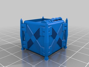 Sci-Fi Crate (Stackable)