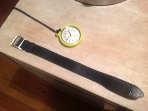 Pocket watch case for Alessi wrist watch - Achille Castiglione classic design