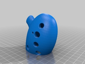 Working 12 hole Ocarina - No support edition