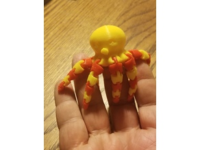 Cute Mini Octopus for two color printer