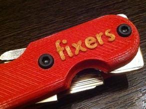 Fixers Swiss army style keychain