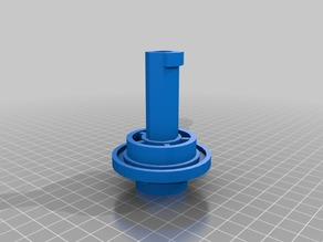 Flashforge Creator Pro Spool Holder for Dreamer 0.6 kg Filaments. 20mm Diameter Hole