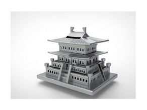 Korean Traditional Architecture Coin Bank