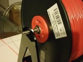 Inland filament spool spacer (w/ skate bearings)