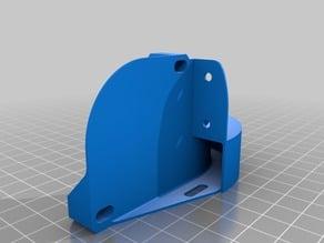 Fan Mounting Bracket for Titan + v6 /Titan Aero i3 Upgrade Kit with BLTouch Mount