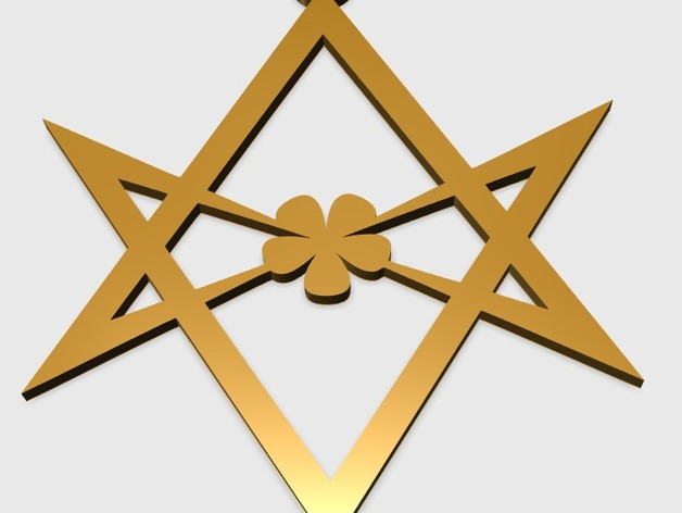 Unicursal hexagram pendant by alajaz thingiverse unicursal hexagram pendant by alajaz may 25 2015 thingiview mozeypictures Images
