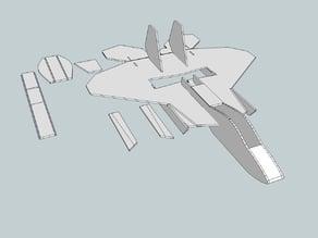 FT-22 raptor model