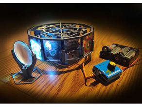 3D Printed Projector