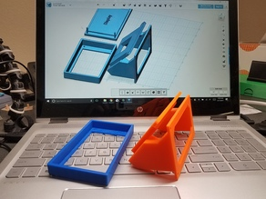 Qidi X-One angled display bracket