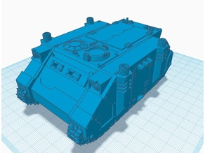 SciFi Transport Tank 2019