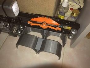 axle rear suspension RC 1/14