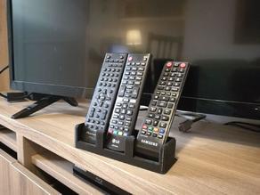TV remote control holder