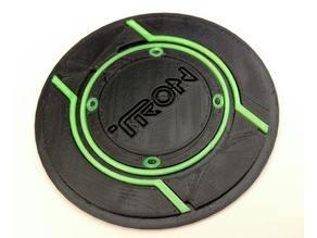 TRON Logo  Coaster