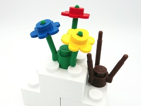 Big Flower LEGO style - playable version