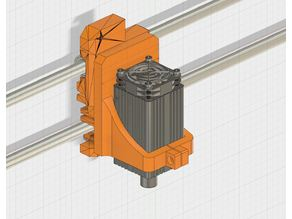 Prusa i3 MK2 Mount for Laser Engraving and Cutting - fits original X Carriage