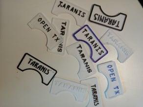 Taranis FR Sky Sticker Plate