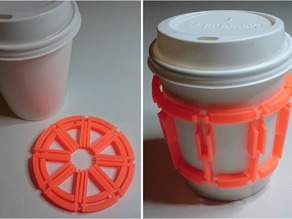 Collapsible Cup Holder/Pad